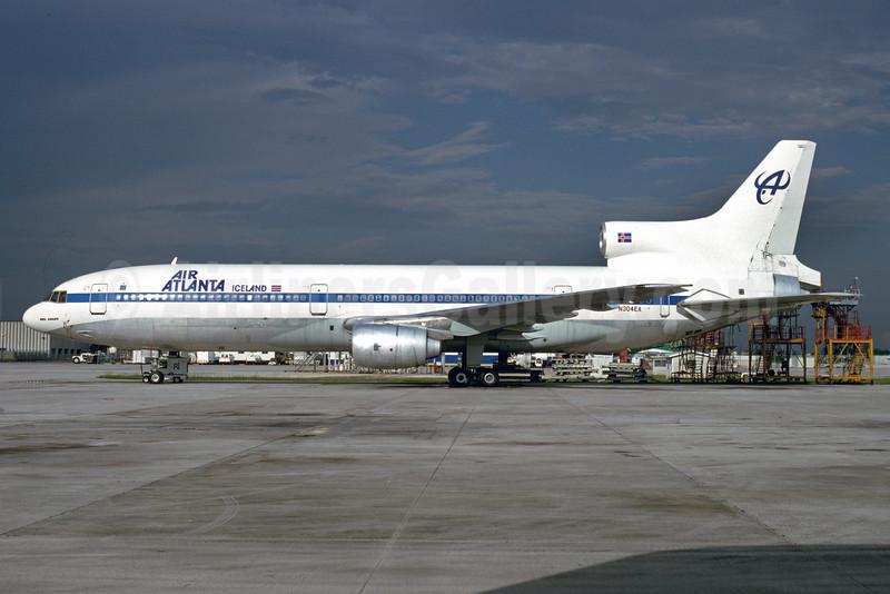 Air Atlanta Iceland Lockheed L-1011-385-1 TriStar 1 N304EA (msn 1005) (Pan Am colors) MIA (Bruce Drum). Image: 103566.