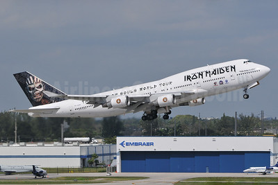 """""""Ed Force One"""" - Iron Maiden's The Book of Souls World Tour"""