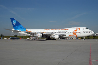 """Zeus"", ""Athens 2004 Olympic Torch Relay"" aircraft"