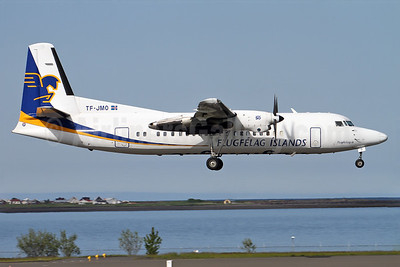 Fokker 50s replaced with new Bombardier Q400s in 2016, all Fokker 50s stored
