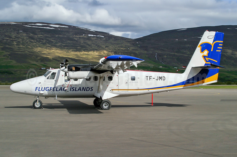 Flugfelag Islands-Air Iceland de Havilland Canada DHC-6-300 Twin Otter TF-JMD (msn 475) AEY (Wingnut). Image: 943965.