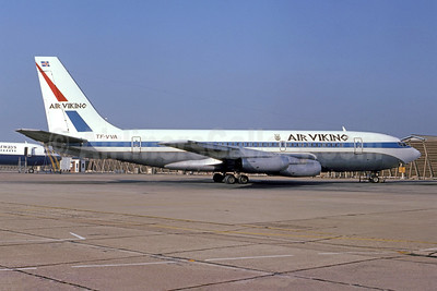 Air Viking Boeing 720-022 TF-VVA (msn 18082) (United colors) LHR (Bruce Drum Collection). Image: 949389.
