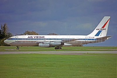 Air Viking Boeing 720-022 TF-VVB (msn 18075) (United colors) (Christian Volpati Collection). Image: 949390.