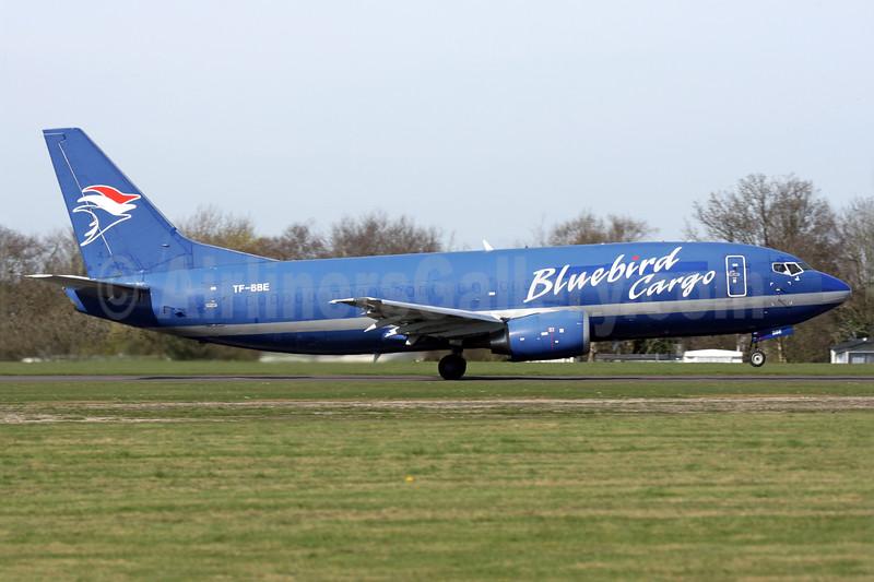 Bluebird Cargo Boeing 737-36E (F) TF-BBE (msn 25256) QLA (Antony J. Best). Image: 938669.