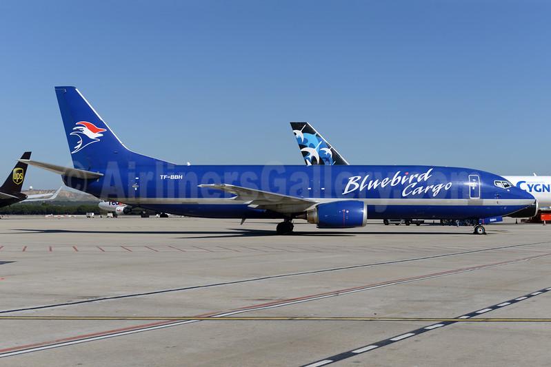 Bluebird Cargo Boeing 737-4Y0 (F) TF-BBH (msn 23865) MAD (Ton Jochems). Image: 938671.