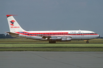 Eagle Air (Iceland) - Arnarflug (1st) Boeing 720-047B TF-VLB (msn 18827) (Air Malta colors) AMS (Christian Volpati Collection). Image: 941545.