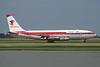 Eagle Air (Iceland) - Arnarflug (1st) Boeing 720-047B TF-VLB (msn 18827) (Air Malta colors) AMS (Christian Volpati Collection). Image: 941545.