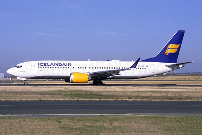 Icelandair's first MAX 8, delivered February 28, 2018 in revised livery