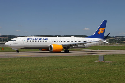 Icelandair Boeing 737-8 MAX 8 TF-ICY (msn 44354) ZRH (Andi Hiltl). Image: 954463.