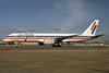 Icelandair-Air Holland Boeing 757-27B PH-AHE (msn 24135) (Air Holland colors) LHR. Image: 929829.