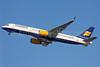 Icelandair Boeing 757-208 WL TF-FIN (msn 28989) LHR (Keith Burton). Image: 902340.