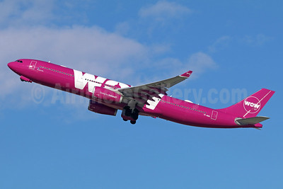 Wow Air Airbus A330-343 TF-WOW (msn 1624) LAX (Michael B. Ing). Image: 936926.
