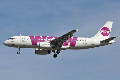 Wow Air (Air VIA) Airbus A320-232 LZ-MDD (msn 4305) LGW (Robbie Shaw). Image: 913538.