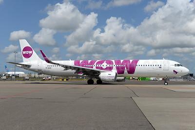 Wow Air Airbus A321-211 WL TF-DAD (msn 6332) AMS (Ton Jochems). Image: 929653.