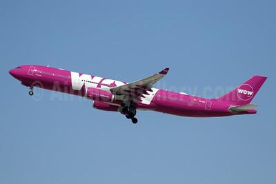 Wow Air Airbus A330-343 EC-MIN (msn 1607) LAX (Ron Monroe). Image: 944276.