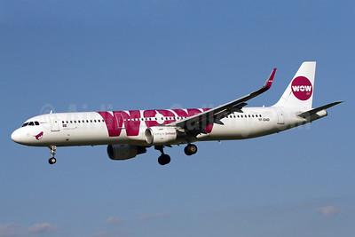 Wow Air Airbus A321-211 WL TF-DAD (msn 6332) BWI (Brian McDonough). Image: 928818.