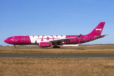 Wow Air Airbus A330-343 TF-GAY (msn 1098)  CDG (Jacques Guillem). Image: 944647.