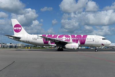 Wow Air (Avion Express) Airbus A320-232 TF-WOW (msn 2457) AMS (Ton Jochems). Image: 924326.