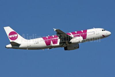 Wow Air (Air VIA) Airbus A320-232 LZ-WOW (msn 2457) LGW (SPA). Image: 929781.
