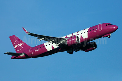 Wow Air's first Airbus A320neo