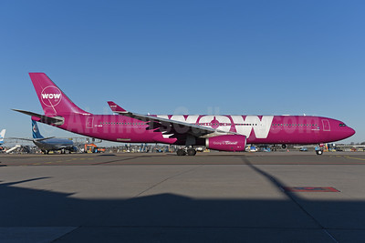 Wow Air Airbus A330-343 TF-WOW (msn 1624) AMS (Ton Jochems). Image: 940507.