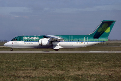 Aer Lingus Commuter BAe 146-300 EI-CLJ (msn E3155) DUB (SM Fitzwilliams Collection). Image: 933130.