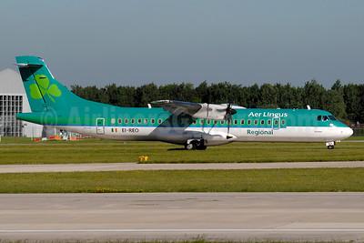 Aer Lingus Regional-Aer Arann ATR 72-212A (ATR 72-500) EI-REO (msn 787) MAN (Paul Denton). Image: 934658.