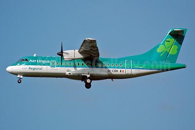 Aer Lingus Regional-Aer Arann ATR 42-300 EI-CBK (msn 199) MAN (Nik French). Image: 908596.
