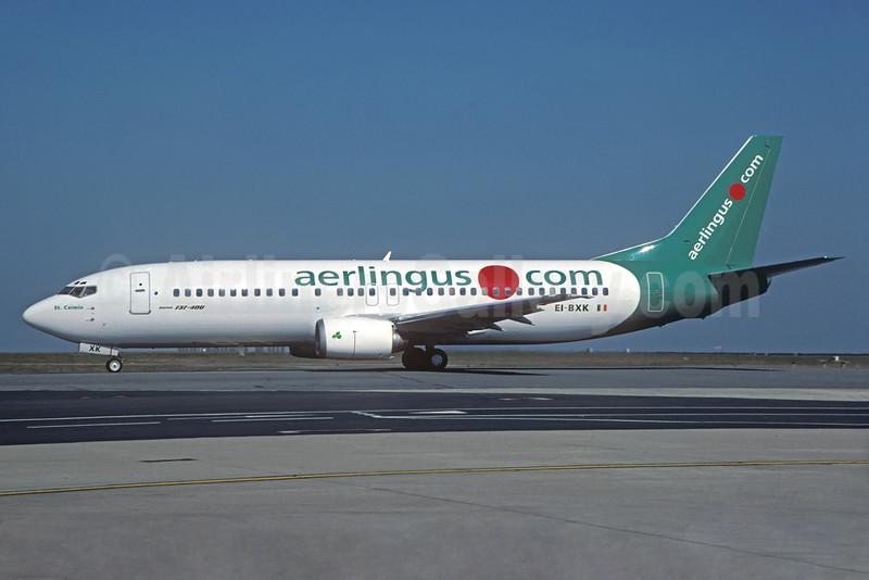 Aer Lingus (aerlingus.com) Boeing 737-448 EI-BXK (msn 25736) (.com livery) CDG (Christian Volpati). Image: 932288.