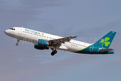 """""""St. Schira"""", the first Airbus A320 in the new livery"""