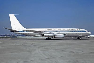 Aer Lingus-Irish International  Boeing 720-048 EI-ALA (msn 18041) (Trans Polar stripe) LBG (Christian Volpati). Image: 948691.