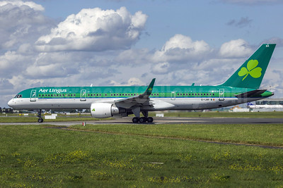 Aer Lingus (Aero Contractors) Boeing 757-2Q8 WL EI-LBR (msn 28167) DUB (SM Fitzwilliams Collection). Image: 926325.
