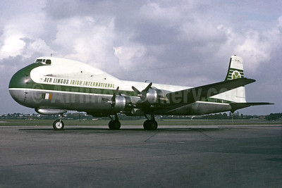 Aer Lingus-Irish International Aviation Traders ATL-98 Carvair (Douglas C-54B-1-DC) EI-ANJ (msn 10458) BHX (Jacques Guillem Collection). Image: 931709.