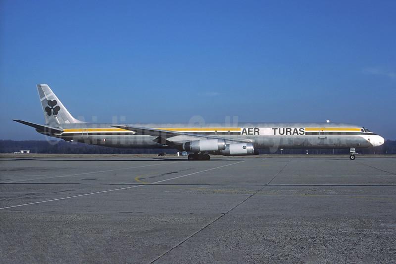 Aer Turas McDonnell Douglas DC-8-63 (F) EI-BNA (msn 45989) MXP (Christian Volpati Collection). Image: 931728.