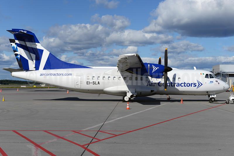 Air Contractors ATR 42-300F EI-SLA (msn 149) OSL (Ton Jochems). Image: 925191.