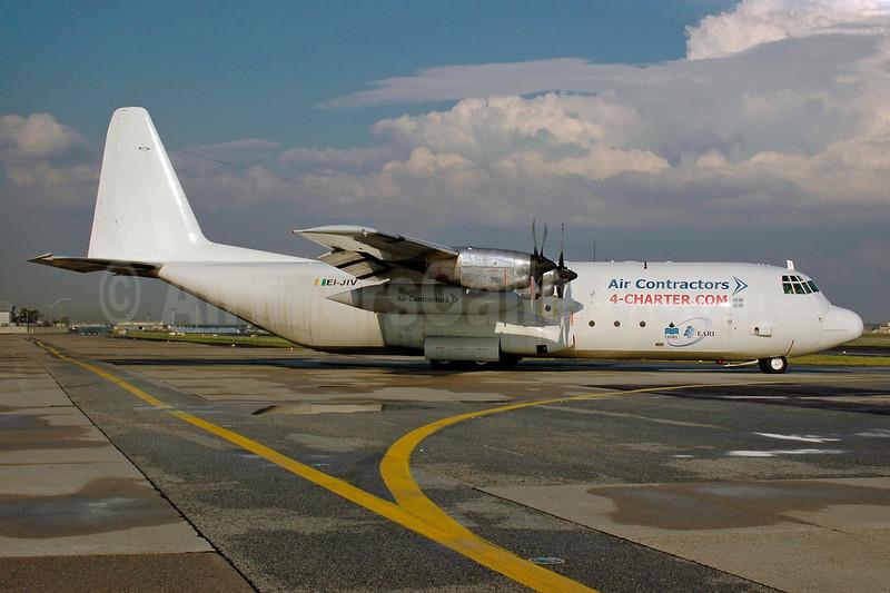 Air Contractors Lockheed 382G (L-100-30) Hercules EI-JIV (msn 4673) (4-Charter.com) FRA (Bernhard Ross). Image: 901277.