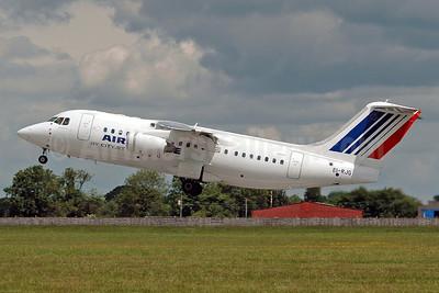 Air France (CityJet) BAe RJ85 EI-RJH (msn E2344) DUB (Nik French). Image: 900270.