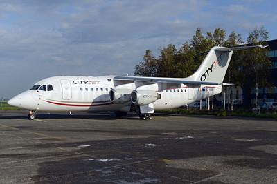 CityJet (Ireland) BAe RJ85 EI-RJT (msn E2366) AMS (Ton Jochems). Image: 929468.