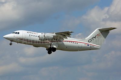 CityJet (Ireland) BAe RJ85 EI-RJY (msn E2307) SEN (Keith Burton). Image: 933473.