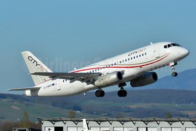 CityJet (Ireland) Sukhoi Superjet 100 EI-FWB (msn 95108) BSL (Paul Bannwarth). Image: 937414.