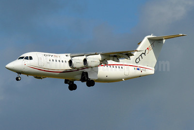 CityJet (Ireland) BAe RJ85 EI-RJO (msn E2352) AMS (Tony Storck). Image: 935378.