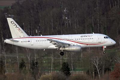 CityJet (Ireland) Sukhoi Superjet 100 EI-FWA (msn 95102) ZRH (Andi Hiltl). Image: 937322.