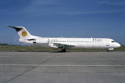 EUjet Fokker F.28 Mk. 0100 EI-DBR (msn 11323) ORY (Jacques Guillem). Image: 949583.