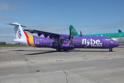 The first Aer Arann ATR 72 to operate in Flybe colors