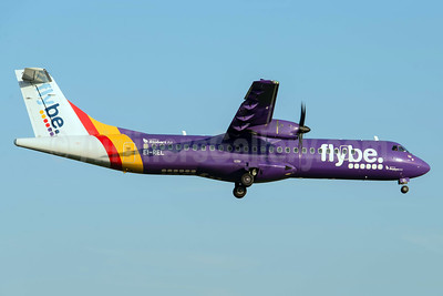 Flybe-Stobart Air ATR 72 -212A (ATR 72-500) EI-REL (msn 748) MAN (Rob Skinkis). Image: 942519.