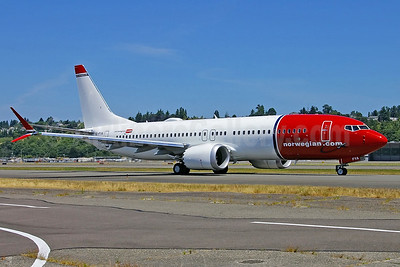 Norwegian takes delivery of its first Boeing MAX 8