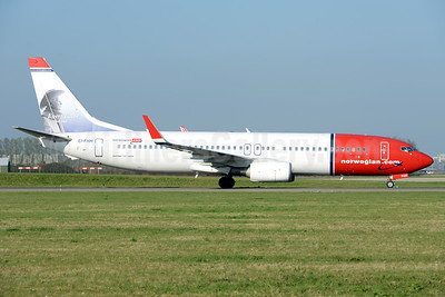Norwegian.com (Norwegian Air International) (Ireland) Boeing 737-8FZ WL EI-FHH (msn 31713) (Evert Taube, Swedish poet) AMS (Ton Jochems). Image: 937442.