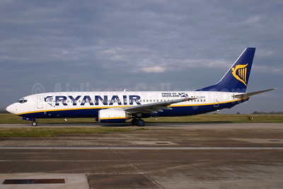 Ryanair Boeing 737-8AS EI-DAO (msn 33550) (Pride of Scotland) STN (Antony J. Best). Image: 902572.