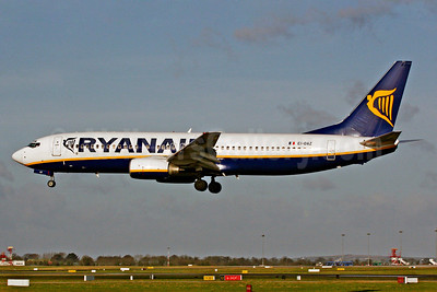 Ryanair Boeing 737-8AS EI-DAZ (msn 33559) DUB (SM Fitzwilliams Collection). Image: 921172.