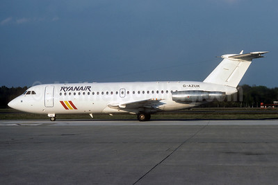 Ryanair BAC 1-11 476FM G-AZUK (msn 241) (Baltic stripes) MXP (Christian Volpati Collection). Image: 937324.